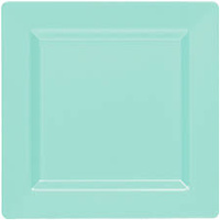 Square Lunch Plate - Robins Egg Blue