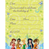 Tinker Bell Invitations