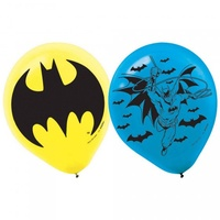 Batman 30cm Latex Balloons