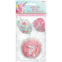 Unicorn Magical Cupcake Cases