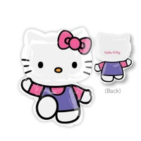 Hello Kitty Pink/Purple SuperShape Foil Balloon