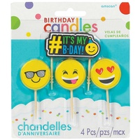 Emoji Small Candle Set