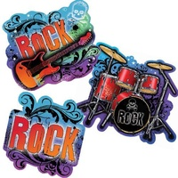 Rock & Roll - Value Pack Cut Outs