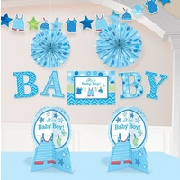 Shower w/Love Boy Room Decorating Kit