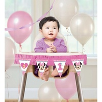 Minnie Fun To Be One High Chair Decoration Kit