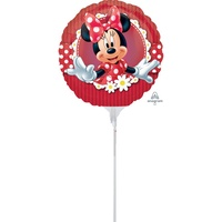 Mad about Minnie 22cm Foil Balloon (Air Filled Only)