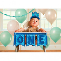1st Birthday Boy High Chair Decoration Kit