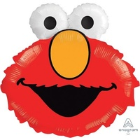 Elmo Head Supershape Foil Balloon