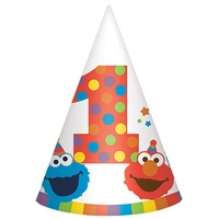 Elmo Turns One Party Hat