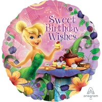 Tinker Bell Birthday Wishes 45cm Foil Balloon