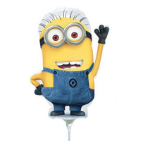Despicable Me Shape Foil Mini Air Inflated 22cm (Local Order Only)