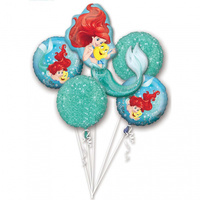 Ariel Dream Big Foil Balloon Bouquet