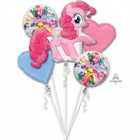 My Little Pony Pinky Pie Foil Balloon Bouquet