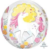 Unicorn Magical Orbz Foil Balloon