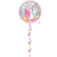 Unicorn Magical Jumbo Shape Foil Balloon