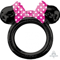 Minnie Mouse Foil Balloon Photo Frame