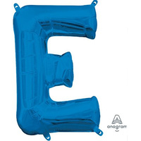40cm Letter E Blue (Air Fill Only)