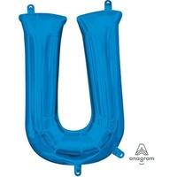 40cm Letter U Blue (Air Fill Only)