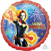 Captain Marvel 45cm Foil Balloon