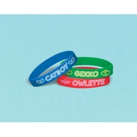 PJ Masks Rubber Bracelets Favor