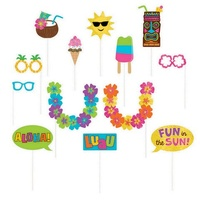 Hawaiian Summer Luau Photo Prop Kit