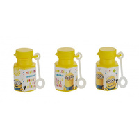 Despicable Me 3 Mini Bubble Favours