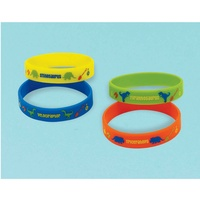 Dinosaur Prehistoric Party Rubber Bracelet Favours