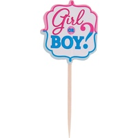 Gender Reveal Girl or Boy Party Picks