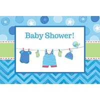 Shower w/Love Boy Invitations
