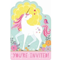 Unicorn Magical Invitations