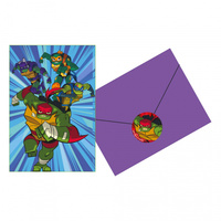 TMNT Rise of the TMNT Invitations