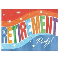 Happy Retirement Invitations