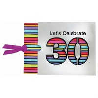 30th Birthday Novelty Invitations