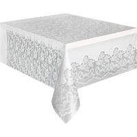 White Lace Tablecover