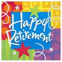 Happy Retirement - Luncheon Napkins