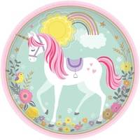 Unicorn Magical Dinner Plates