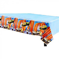 Hot Wheels Wild Racer Table Cover
