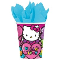 Hello Kitty Rainbow Paper Cups