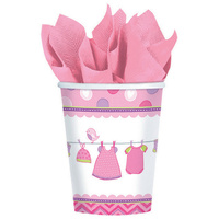 Shower w/Love Girl Paper Cups