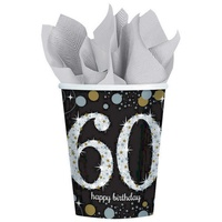 60th Sparkling Celebration Cups