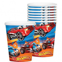 Hot Wheels Wild Racer Paper Cups