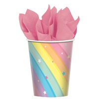 Magical Rainbow Birthday Paper Cups
