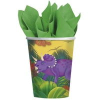 Dinosaur Prehistoric Party Cups