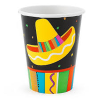 Mexican Fiesta - Paper Cups