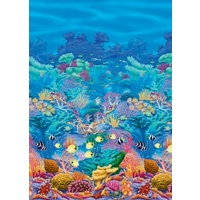 Under the Sea Coral Reef Room Roll Scene Setter