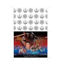 Star Wars Episode 7 Plastic Tablecover