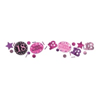 18th Pink Celebration Confetti