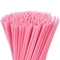 Cocktail Straws - Pink
