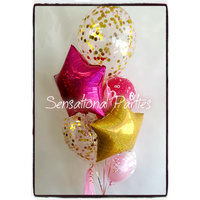 Balloon Bouquet Glamour (Confetti)
