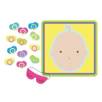 Game Baby Shower Pin The Pacifier